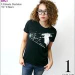 sp075tc - Ultimate Decision TC Tシャツ -G- パンク ロック PUNK ROCK ブラック 黒色系