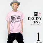 tgw003tee -DESTINY(ディスティニー)Tシャツ -G- パンク ロックTシャツ 半袖 メンズ レディース