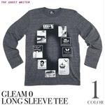 tgw023-tlt - Gleam 0(ゼロ) ネオビンテージ ロングスリーブTシャツ -G- 長袖Tシャツ ロンT メンズ レディース ロック パンク アメカジ