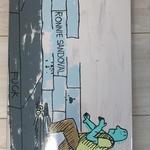 Krooked Skateboards  Krooked Ronnie Sandoval Side Walk End 1OFF Deck  8.38x32.45