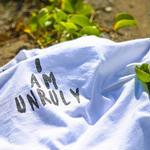 """ラスト1枚!UNRULY T-SHIRTS  """" I AM UNRULY"""" WHITE 数量限定【UNRULY WEAR】"""