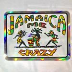 ジャマイカ  JAMAICA ME CRAZYステッカー キラ ※数量限定