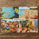 JAMAICA レアポストカード MONTEGO BAYデッドストック