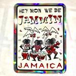 ジャマイカ  JAMMINステッカー キラ ※数量限定