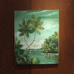 ジャマイカ ペイント G.JAHMAIN(ジャマイカ絵画)