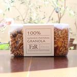 F2R / 柿と大豆の黒糖グラノーラ