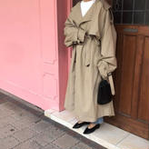 oversize  trench coat (2color)