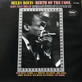 Miles Davis - Birth Of The Cool [LP][Capitol Records] ⇨古き良きジャズシリーズ。名盤
