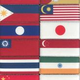 髪ピタ Kamipita 各国国旗バージョン