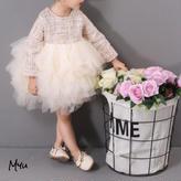 即納【80〜130cm】Tweed princess dress