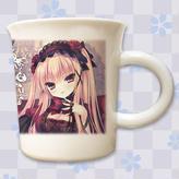 【複製サイン入り限定ノベルティ付き】「るび様」九谷焼マグカップ