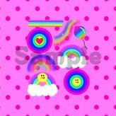 コラージュ*Rainbow vivid