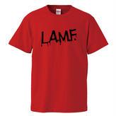 【L.A.M.F/JONNY THUNDERS & THE HEARTBREAKERS】5.6オンス Tシャツ/RED/ST- 148