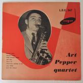 Art Pepper Quartet  – Art Pepper Quartet (英Vogue Records –  L.D.E.067 )mono