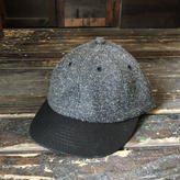 Brownie/B.B.CAP_CHARCOAL GRAYx BLACK