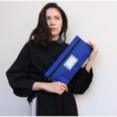 予約collage bag codura royal blue