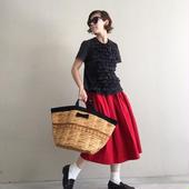 marche fake basket  black