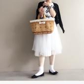 town mini fake basket milk
