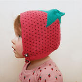 □【ouef】motif hat / Strawberry