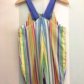 【USED】Colorful Stripe Overall