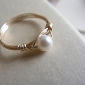 Baby Akoya Pearl ring