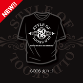 SOOS Tシャツ 丸ロゴ
