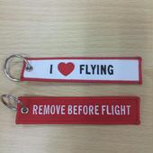 フライトタグ05【I♡FLYING / REMOVE BEFORE FLIGHT】