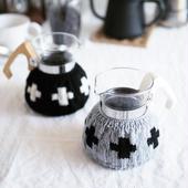 amu.さんの クロスのcoffee cozy 2cup