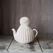 amu.さんの tea cozy ecru(アイボリー)