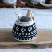 amu.さんの  花のcoffee cozy 2cup