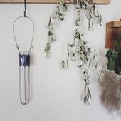 増田 由希子さんの花器 試験管の花器