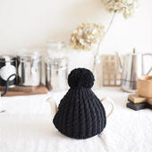 amu.さんの tea cozy noir(ブラック)