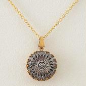 CHANEL vintage  button necklace (BLACK×ヘマタイト) V-NC0002 シャネル