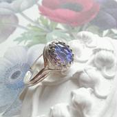 ドラゴンズブレス タンザナイト(10×8) クラシカル指輪