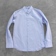 コットンリネンシャツ blue【メンズ】