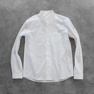 タイプライタークロスコットンシャツ【メンズ】