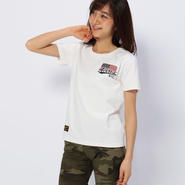 PATCHED VARSITY CREW NECK T-SHIRT