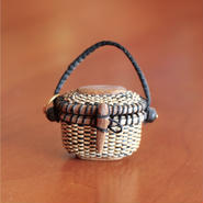 Nantucket Basket 1.5inch oval with lid