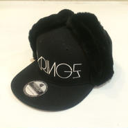 SIXRINGS DOGEAR CAP BLK