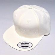 SIXRINGS SNAPBACK CAP/WHITE