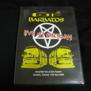 "Barbatos ""Live at Factory"" Live DVD"
