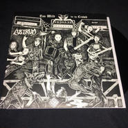 "Abigail ""Too wild for the crowd"" Split 7'ep with Lustrum Black vinyl"