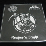 "Abigail ""Reaper's night"" Split LP with Sign of evil"