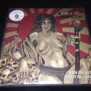 "Barbatos ""Straight metal war"" LP Colored vinyl"