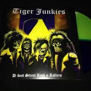 """Tiger Junkies """"D-beat street rock'n rollers"""" LP Colored vinyl"""