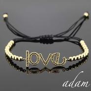 love message bracelet