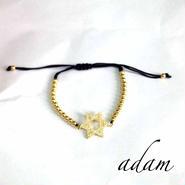 Hexagram bracelet