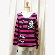 【ACDC RAG】 ZIPボーダーセーター