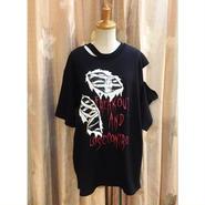 【HELLCATPUNKS】クラッシュTシャツ