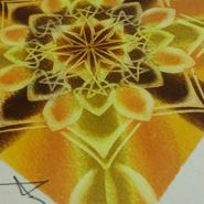 古都クスコ*インカの輝くオーラに満ちたマンダラアート